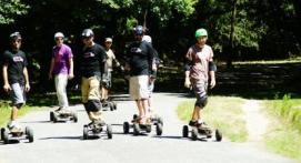 Initiation skate électrique tout terrain Nantes