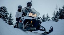 Balade en Moto-Neige à La Plagne