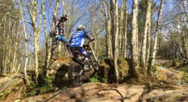 Randonnée en Moto Trial près d'Aix-en-Provence
