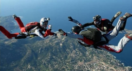 Saut d'initiation PAC en parachute près de Gap