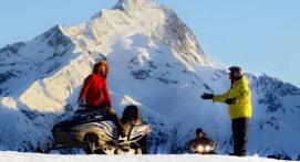 Randonnée en Motoneige aux 2 Alpes