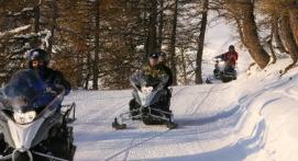 Randonnée Motoneige Exploration Pra-Loup