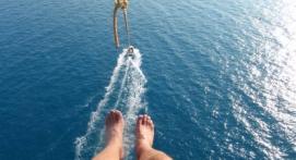 Parachute Ascensionnel et Kayak à Antibes