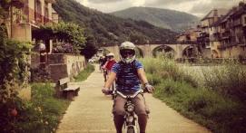 Randonnée en moto électrique Rodez