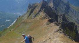Randonnée sportive montagne Albertville