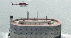 Vol en Hélicoptère à la découverte de Fort Boyard