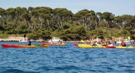 Randonnée en Kayak de mer autours des Iles de Lérins