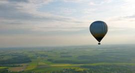 Vol en montgolfière - découverte du Brabant Wallon