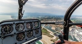 Survol en Hélicoptère de la Côte Vermeille près de Perpignan