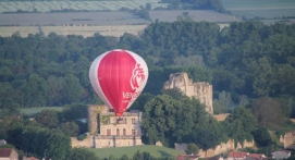 Vol en montgolfière près de Niort au dessus du marais Poitevin
