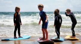 Cours de Surf découverte à Clohars Carnoet