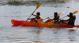 Balade en Canoë-Kayak à Sainte Maxime
