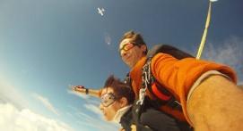 Saut en Parachute Tandem à Sarlat