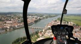 Vol en Hélicoptère à Mâcon