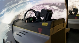 Simulateur Avion Chasse F18 Lyon