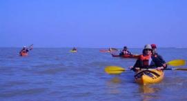 Bivouac en kayak sur l'île d'Aix
