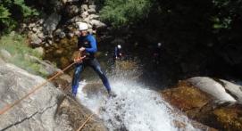 Descente en Canyoning près de Montpellier