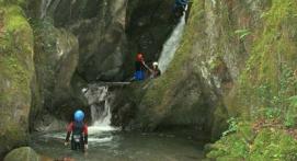 Canyoning près de Luchon