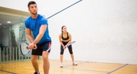 Séance de Squash à Noisy-Le-Grand