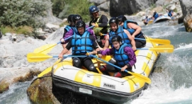 Rafting près d'Embrun