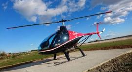 d Vol en hélicoptère depuis Nîmes vers le Nord de la Camargue