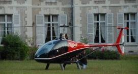 d Baptême en Hélicoptère - Vol privatif au dessus des Baux de Provence
