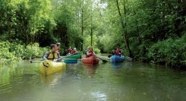 Kayak et une nuit à Saint-Quentin