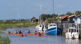 Kayak biplace à Royan