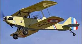 Baptême de l'air en avion biplan à l'île d'Oléron