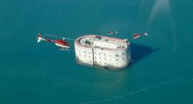 Survol en Hélicoptère du Fort Boyard et sa région