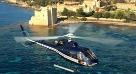 Vol en Hélicoptère à la découverte de l'île de Porquerolles