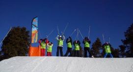 Stage collectif de Ski Alpin à Bolquere