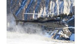 Baptême en hélicoptère - Vol privé pour 5 à Megève avec vu sur le Mont Blanc