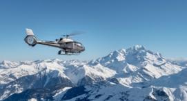 Baptême en hélicoptère - Vol Panoramique depuis Chamonix