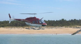 Initiation au Pilotage d'Hélicoptère sur Bell 206 à Rochefort