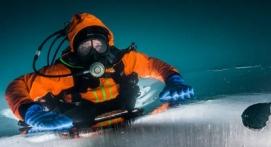 Plongée sous glace et raquettes à Val Thorens