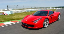 Pilotage en Ferrari F458 - Circuit de Chambley