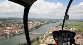 Vol en hélicoptère privatisé à Mâcon