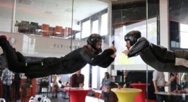 Simulateur de chute libre en soufflerie Indoor près de Liège