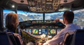 Simulateur d'avion près de Toulouse