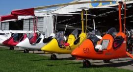 Pilotage d'un ULM Autogire près de Meaux