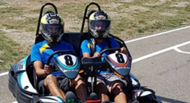 Session de Karting Biplace à Lavilledieu