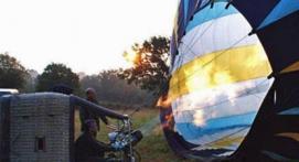 Vol en Montgolfière au-dessus de la Dombes à Bourg-en-Bresse