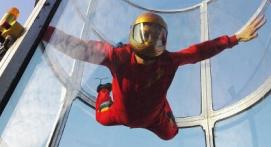 Simulateur de chute libre en soufflerie Indoor à Montpellier