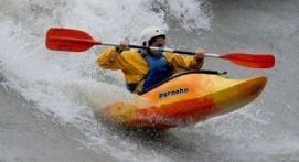 Kayak près de Pau