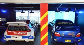 Simulateur de Rallye en réalité virtuelle à Paris Sud
