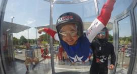 Simulateur de chute libre pour enfant près de Toulouse