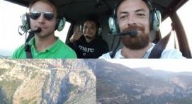 Vol en Hélicoptère au-dessus de l'Hérault