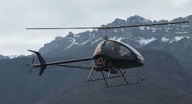 Baptême en Hélicoptère ultra-léger près d'Aix les bains