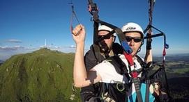Initiation au pilotage de parapente au sommet du Puy-du-Dôme